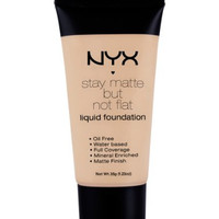 NYX Stay Matte But Not Flat Liquid Foundation - SMF 04 - Creamy Natural