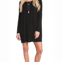 BLACK OVERSIZE TUNIC DRESS (made from Bamboo)