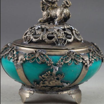 Lion Incense Burner