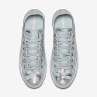 CONVERSE CHUCK TAYLOR ALL STAR BRUSH OFF LEATHER LOW TOP