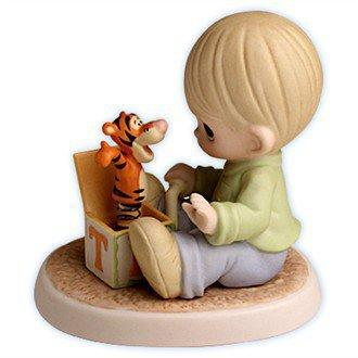 """Precious Moments Disney Figurines - Winnie the Pooh's Tigger: """"The Wonderful Thing About Tiggers"""" - Precious Moments Disney Collection $55.00"""