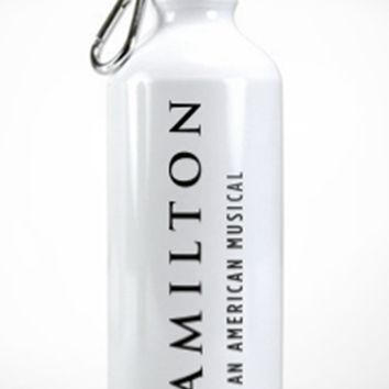 Hamilton The Musical Water Bottle
