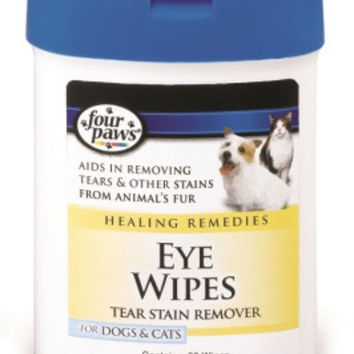 Four Paws Eye Wipes Dog & Cat - 30 Ct