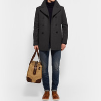 Club Monaco - Double-Breasted Wool-Blend Peacoat