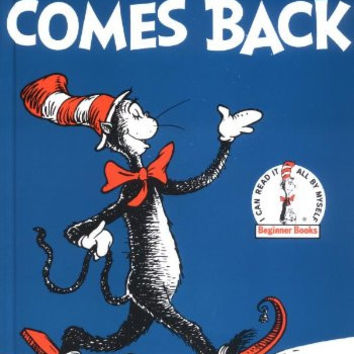 The Cat In The Hat Comes Back, Dr. Seuss Book