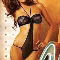 Erotic sexy babydoll lingerie
