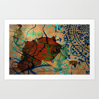 Oriental Art Print by LoRo  Art & Pictures