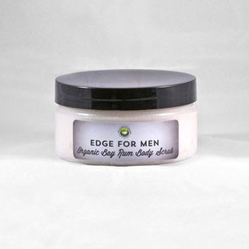 Men's Organic Bay Rum Sugar Body Scrub
