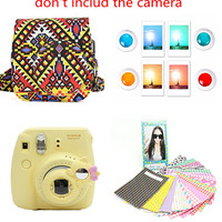 On Sale 4 in 1 CAIUL Camera Accessory Bundles Set for Fujifilm Instax Mini 8 (6 Color )-in Camera/Video Bags from Consumer Electronics on Aliexpress.com | Alibaba Group