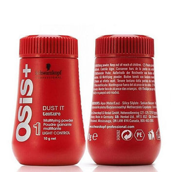Hot selling/ 6pcs/lot Unisex Hairspray Osis Dust It Hair Powder/Mattifying Powder/Finalize The Hair/Design Styling Gel