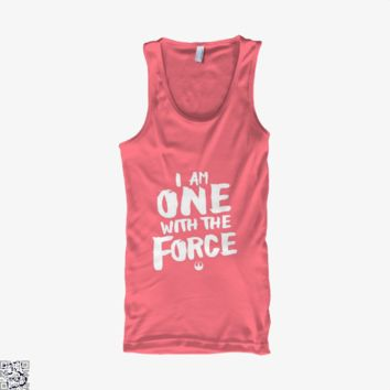 I Am One With The Force, Star Wars Tank Top