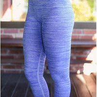 Get Fit Leggings - Periwinkle