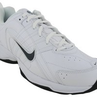 Nike Men's T-Lite VIII Leather Running Shoe Black/White (9.5)
