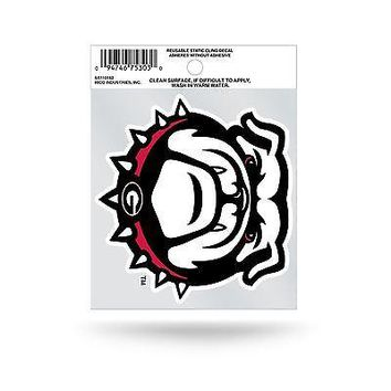 Georgia Bulldogs Logo Static Cling Auto Decal Car Sticker Small SS