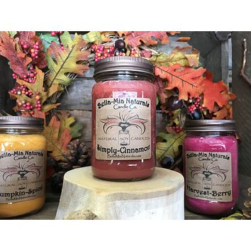 Simply-Cinnamon Natural Hand Poured Soy Candles