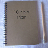 10 year plan -   5 x 7 journal
