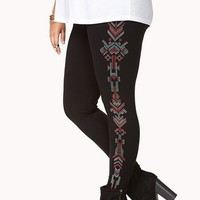 Southwestern-Inspired Desert Leggings