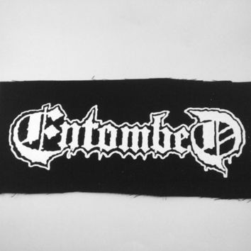 Entombed Death Metal Band Patch Punk Black Metal Thrash Metal Crust Grindcore Bands Patches