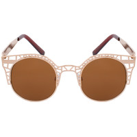 Paolo Chic Sunglasses in Rose Gold