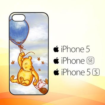 Vintage Winnie the Pooh balloon Y0726  iPhone 5|5S|SE Case