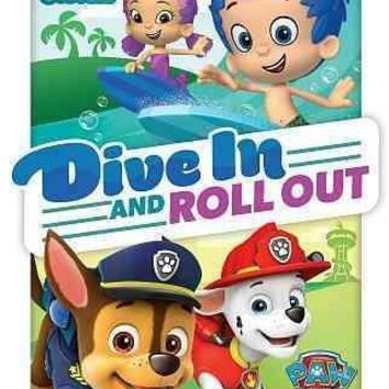 PAW PATROL/BUBBLE GUPPIES:DIVE IN AND