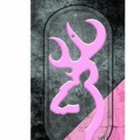 SPG's Browning Cherry Scented Moulded Plastic Air Freshener - Pink