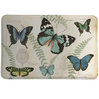Butterfly Naturelle Memory Foam Rug