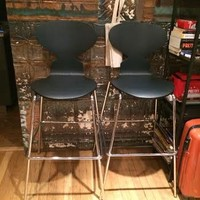 Bar stools: Restoration Hardware