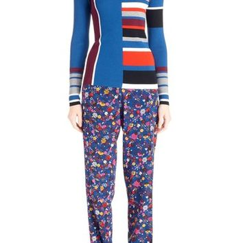 KENZO Stripe Turtleneck Wool Sweater | Nordstrom