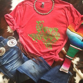 Cacti Texas tee from PeaceLove&Jewels