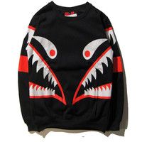 Winter Teeth Round-neck Hoodies [10141572295]