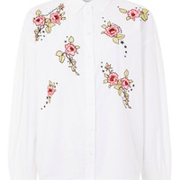 'Love Me Grace' Embroidered Shirt - New In Fashion - New In
