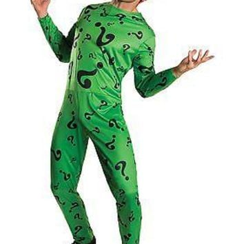 Men's The Riddler Costume