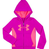 Pink & Peach Hit Logo Zip-Up Hoodie - Infant | zulily