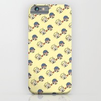 miraculous ladybug : adrinette pattern iPhone & iPod Case by Gamnamu
