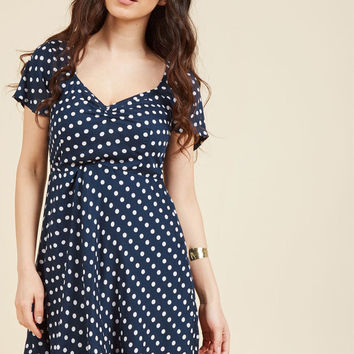 Cobblestone's Throw A-Line Dress