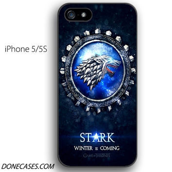 house stark game of thrones iPhone 5 / 5S Case
