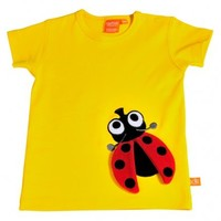 LipFish | T-Shirt Ladybug | Saffron - Baby and childrens Musthaves on KidsMusthaves.com | Webshop with clothing and accessoires Musthaves for Boys and Girls.