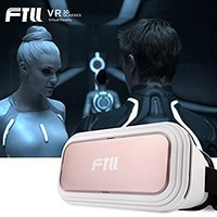 FTLL Virtual Reality Headset 3D VR Glasses VR Box Goggles for iPhone 5 5s 6/ 6s plus iphone 7/7 plus Samsung Galaxy S4/5/6/7/C5/7/A3/7/5/9 Edge Note 4/5/6/7 LG G5 for Android and IOS