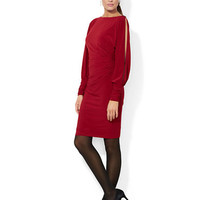 Lauren Ralph Lauren Jersey Dolman Sleeved Dress