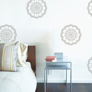 Vinyl Wall Sticker Decal Art - Floral Pattern