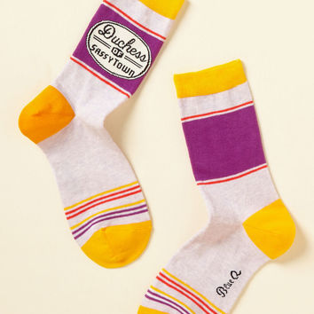 Your Royal Fineness Socks | Mod Retro Vintage Socks | ModCloth.com