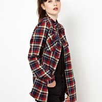 Pop Boutique | Pop Boutique Checked Flannel Shirt at ASOS