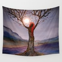 Track 23: Tree of Life Wall Tapestry by Viviana Gonzalez