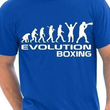 Boxing/Boxer - Human Evolution - Unisex Tee
