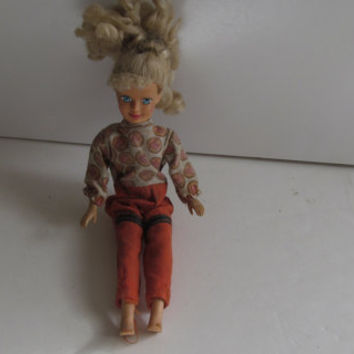 Barbie Doll Kid Kore 1990 Vintage 90s Dolls Blonde Hair Blue Eye Doll