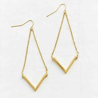 Rising Sun Drop Earring-
