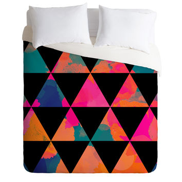 Rebecca Allen These Mountains Sing Duvet Cover