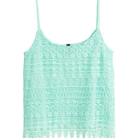H&M Lace Camisole Top $24.95