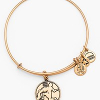 Women's Alex and Ani 'Aquarius' Adjustable Wire Bangle - Russian